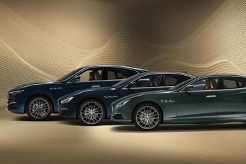 Maserati stoft speciale Royale-editie af