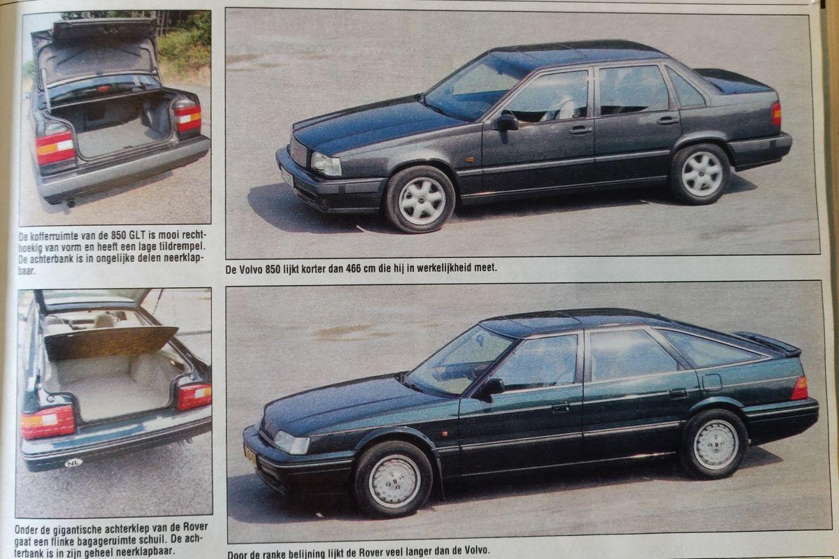 Volvo 850 vs. Rover 827