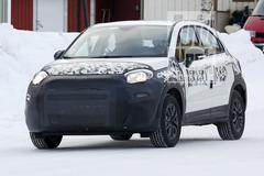 Gesnapt: gefacelifte Fiat 500X