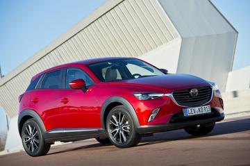 Opgewaardeerde Mazda 2 en CX-3 naar Genève