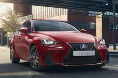 Europese Lexus IS gefacelift