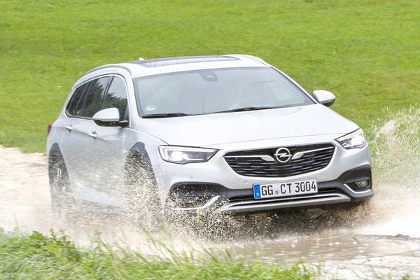 Opel dunt leveringsgamma Insignia Country Tourer uit
