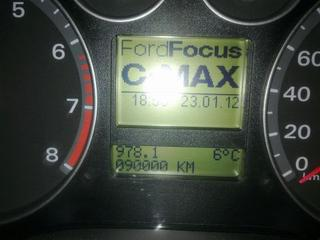 Ford Focus C-MAX 2.0 16V Futura (2007)