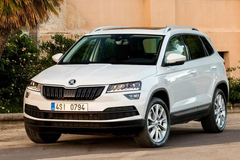skoda karoq 1 6 tdi greentech ambition business. Black Bedroom Furniture Sets. Home Design Ideas