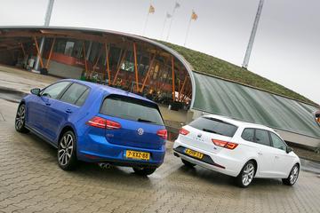 Volkswagen Golf GTE - Seat Leon ST