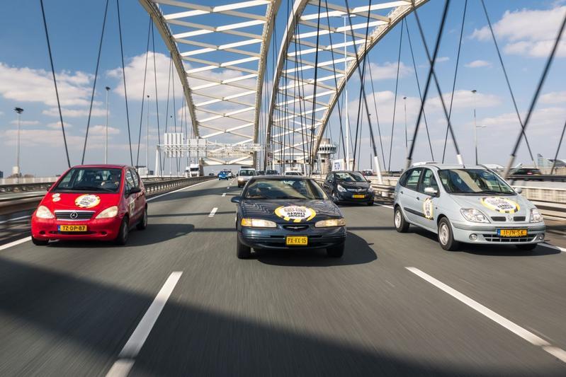 Barrels Van Brienenoordbrug snelweg