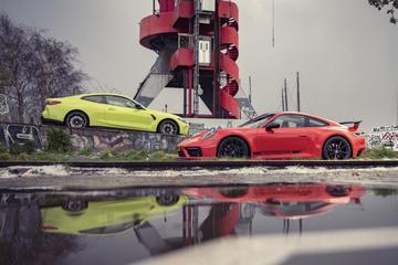 Test: BMW M4 Competition Coupé vs. Porsche 911 Carrera S