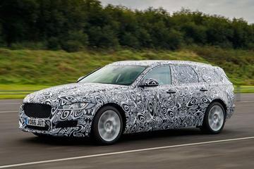 In beeld: Jaguar XF Sportbrake