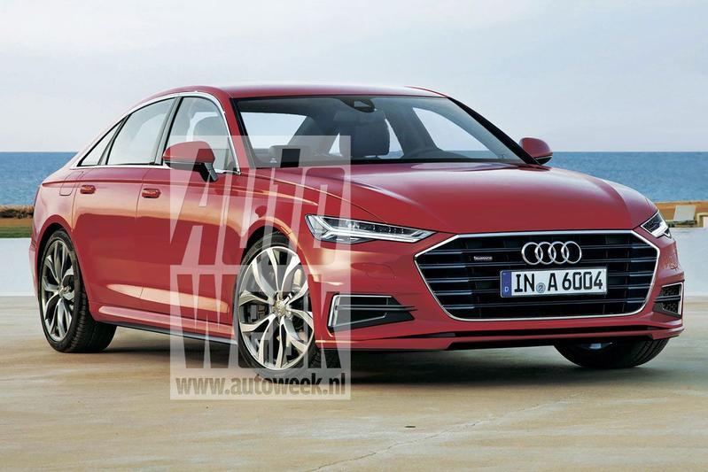 Journaal Nieuwe Audi A6 Komt In 2017 Journaal Autoweek Nl