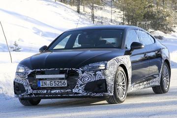 Gefacelifte Audi A5 Sportback gesnapt