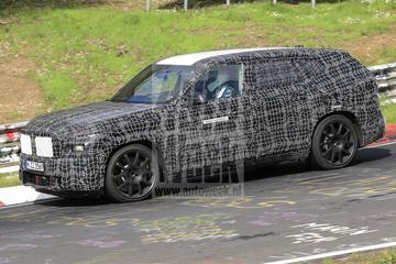 BMW X8 opnieuw te zien