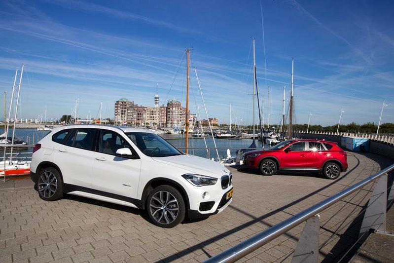 BMW X1 xDrive 25i - Mazda CX5 Sky Active-G 2.5
