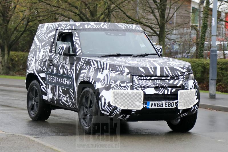 Land Rover Defender 90 spionage