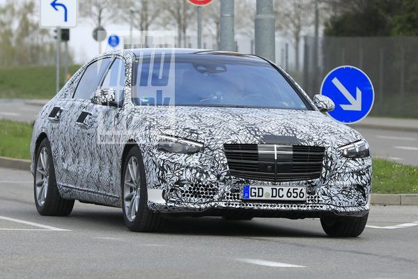 Nieuwe Mercedes-Benz S-klasse gesnapt