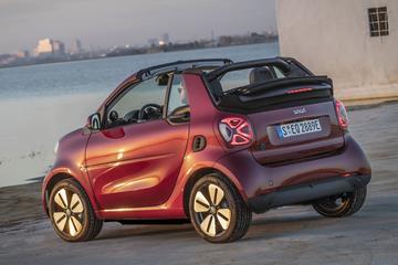 Wat is een elektrische cabrio op de markt?