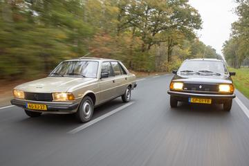 Peugeot 305 GR (1978) - Renault 18 GTS (1981)