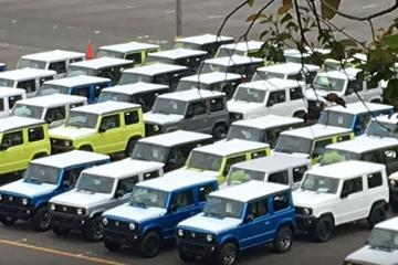 Suzuki Jimny is er klaar voor