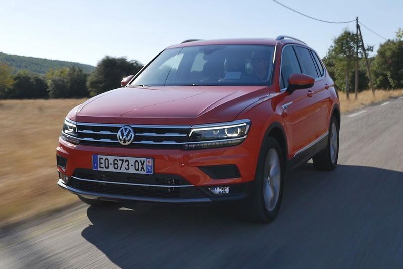 Volkswagen Tiguan Allspace - Rij-impressie