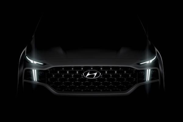 Nu al grondig vernieuwde Hyundai Santa Fe op komst