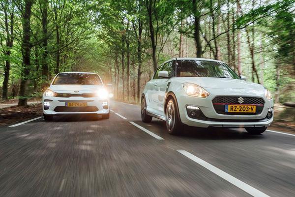 Video: Kia Rio GT-Line vs Suzuki Swift Sportline - Dubbeltest