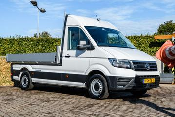 Volkswagen e-Crafter ook als pick-up en kipper