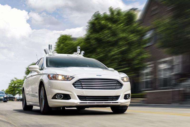 Ford komt in 2021 met autonome deelauto's