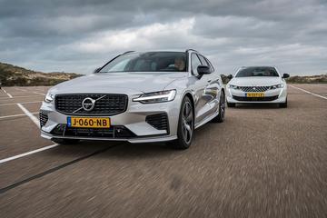 Test: Peugeot 508 SW Hybrid 225 vs. Volvo V60 T6 Recharge