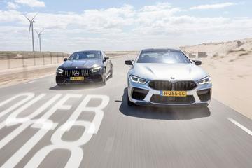 BMW M8 Competition Gran Coupé vs Mercedes-AMG GT 4-Door 63S - Dubbeltest