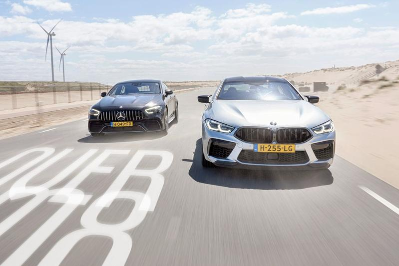 BMW M8 Competition Gran Coupé vs Mercedes-AMG GT 4-Door 63S - Dubbeltest