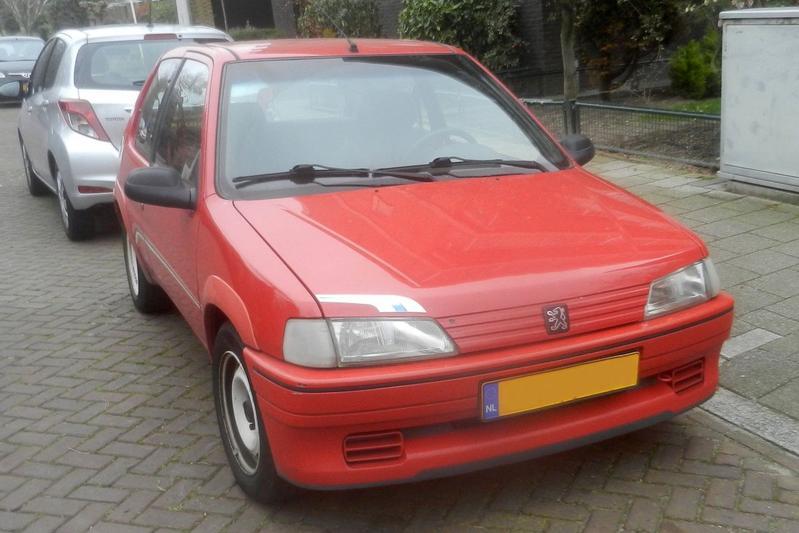 In het Wild: Peugeot 106 Rallye (1995)