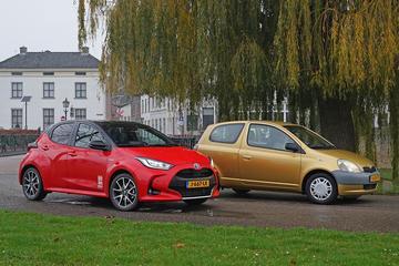 Toyota Yaris - Oud en Nieuw