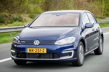'Volkswagen e-Golf gaat langer door wegens problemen ID.3'