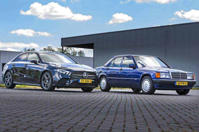 Mercedes-Benz 190E - A200 - Reportage