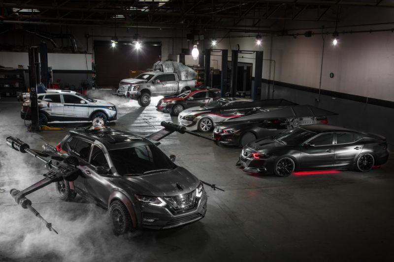 Nissan haalt doek van Star Wars-modellen