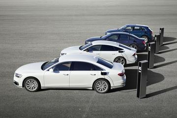 Audi komt met plug-ins Q5, A6, A7 en A8