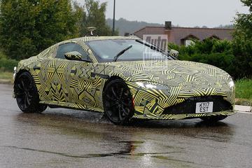 Gesnapt: nieuwe Aston Martin Vantage