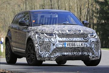 Nieuwe Range Rover Evoque laat zich zien