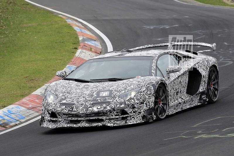 Gesnapt: nóg extremere Lamborghini Aventador