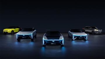 Honda laat nieuwe elektrische modellen zien