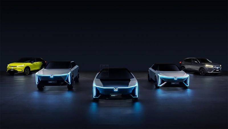 Honda elektrische concept cars