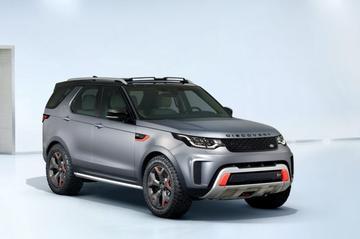 Gelekt: Land Rover Discovery SVX