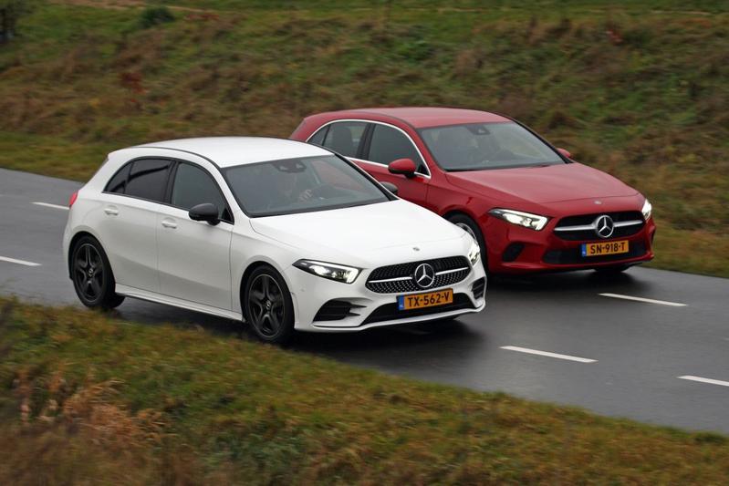 Mercedes-Benz A200 en A180