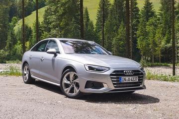 Audi A4 - Rij-impressie
