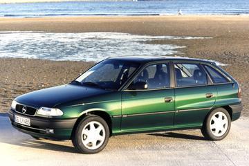 Opel Astra: van de Kadett A tot de Astra L