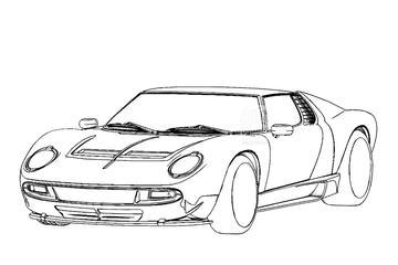 Lamborghini Miura krijgt modern eerbetoon