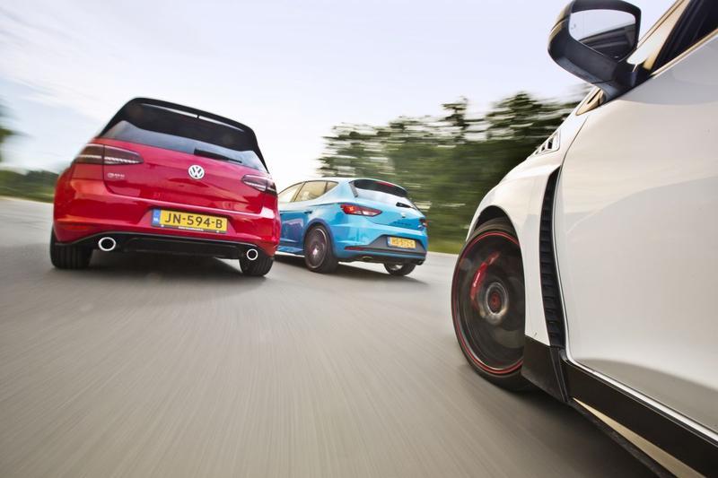 Volkswagen GTI Clubsport - Seat Leon Cupra - Honda Civic Type-R