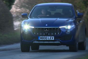 Maserati Levante - Rij-impressie