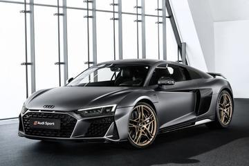 Audi toont R8 V10 Decennium