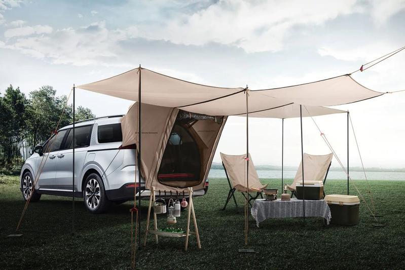 Kia Carnival Hi-Limousine en Outdoor