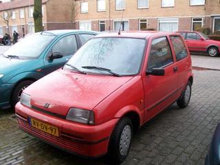 Fiat Cinquecento SX (1997)